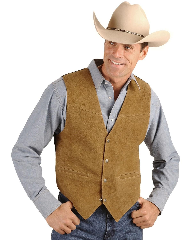 Men's Western & Cowboy Vests: Wool, Suede - Sheplers