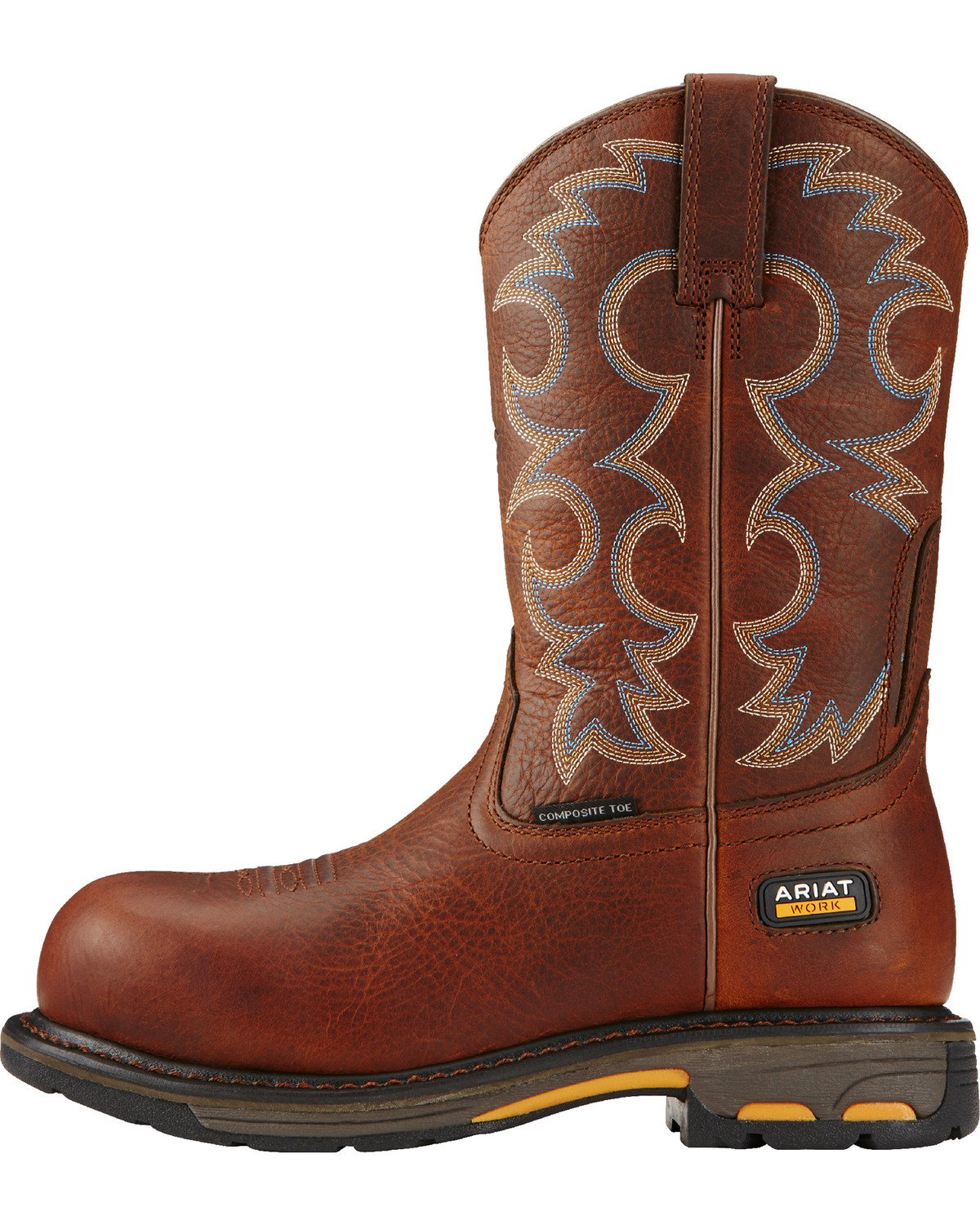 Ariat Women's Brown Workhog Cowgirl Work Boots - Composite Toe ...