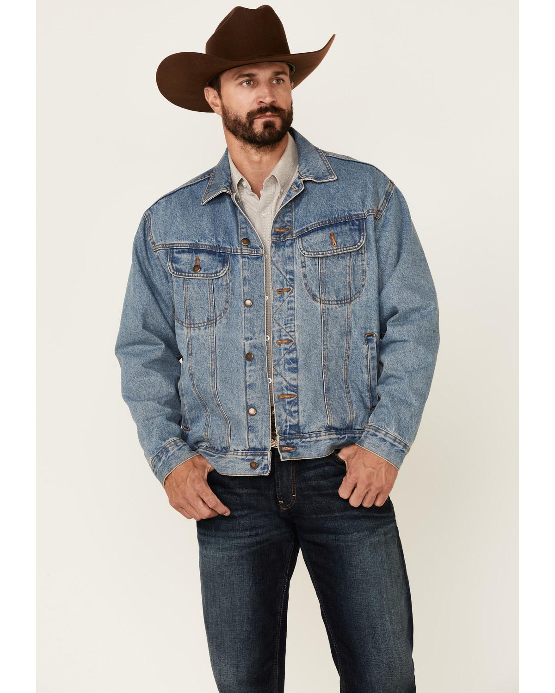 Mens Blue Jean Jacket - Pl Jackets