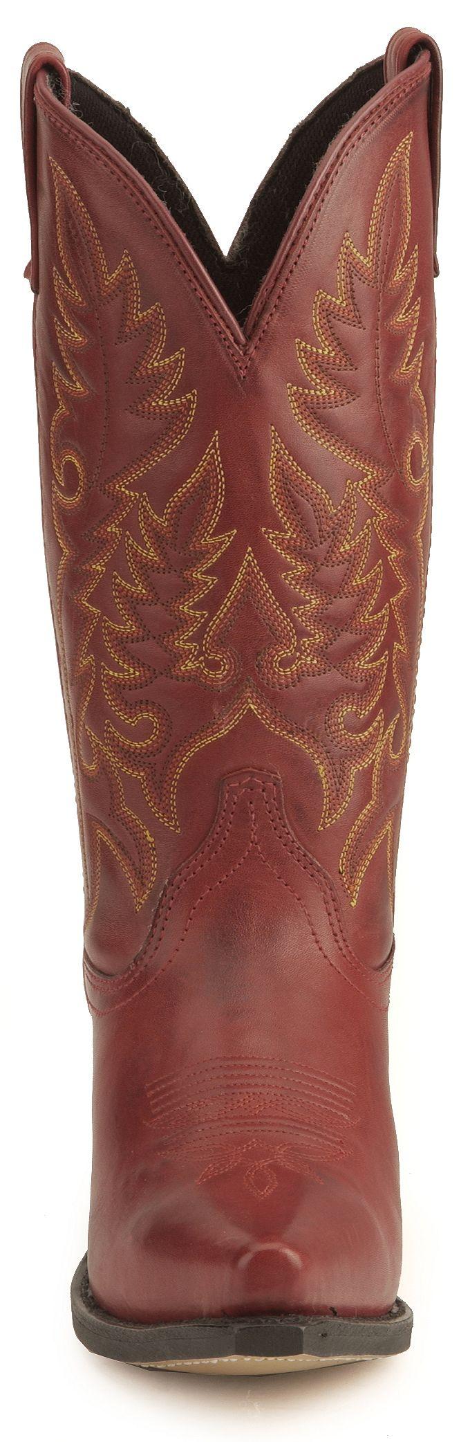 Laredo High Heel Red Cowgirl Boots - Snip Toe | Sheplers