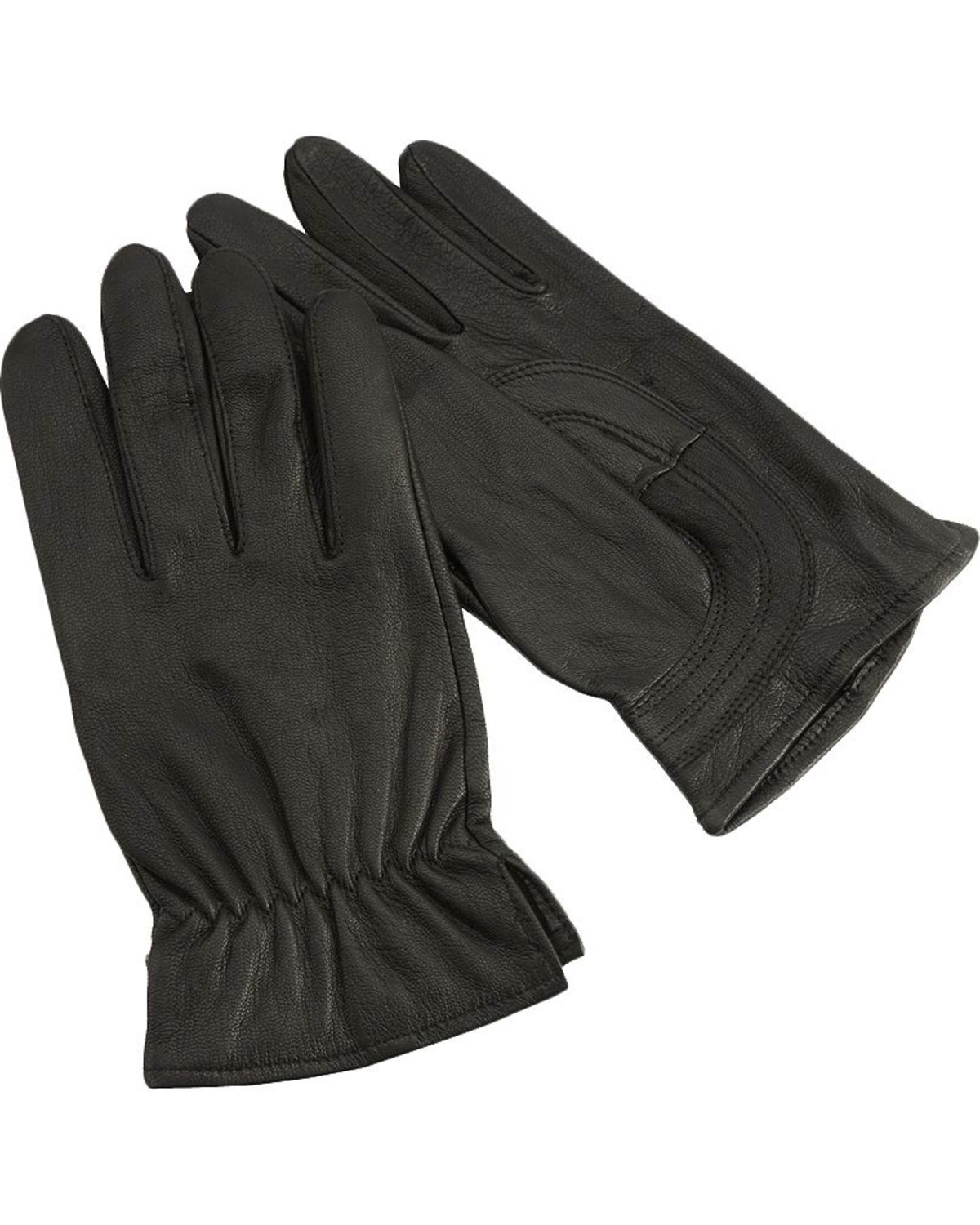 Justin leather work gloves - Hd Xtreme Leather Gloves Black Hi Res