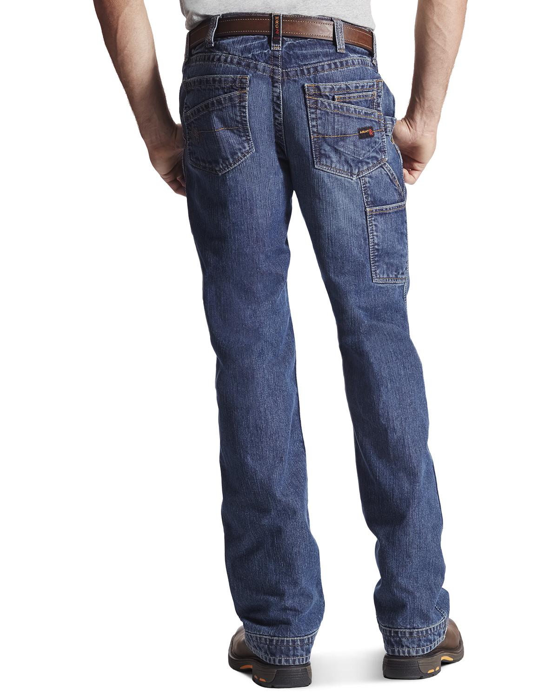 Wrangler Bootcut Mens Jeans