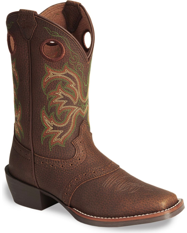 Justin Children S Junior Stampede Cowboy Boots Sheplers