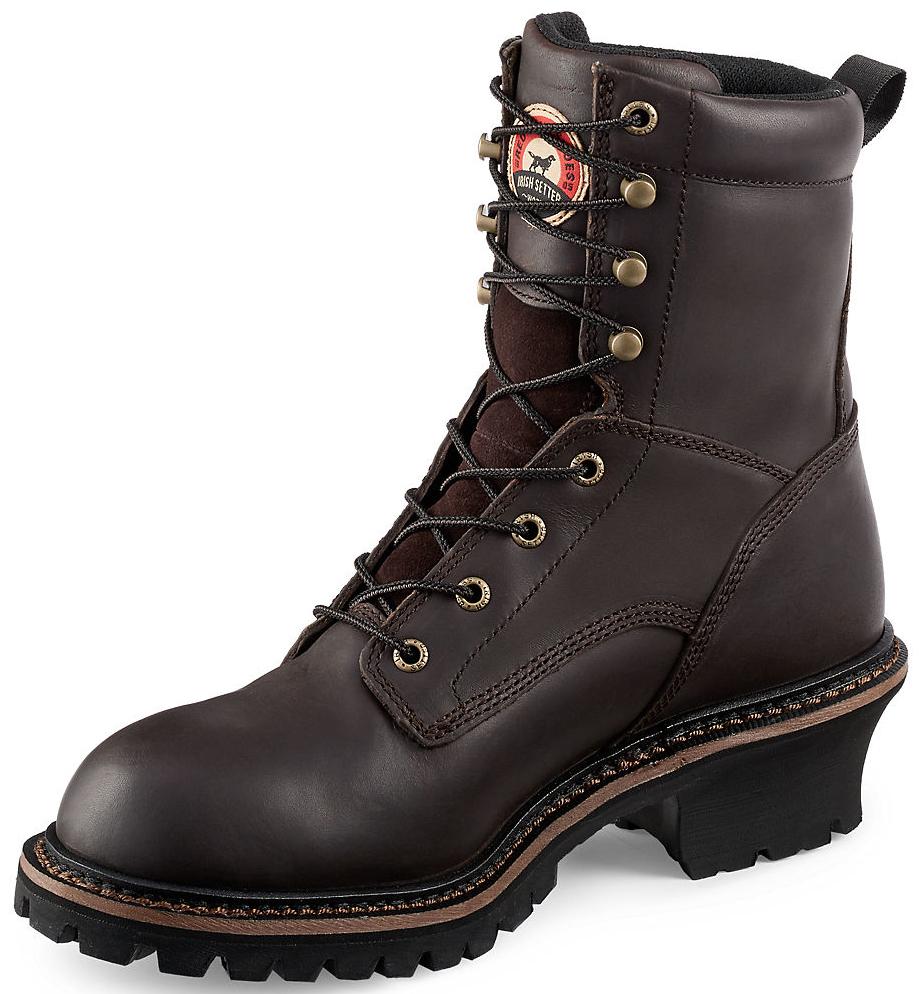 Red Wing Irish Setter Mesabi Logger Work Boots - Steel Toe | Sheplers