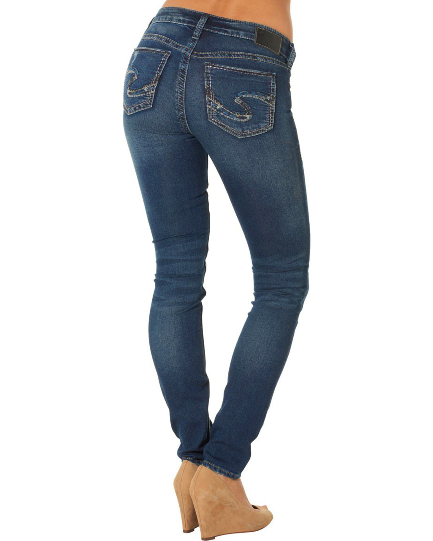 Silver Jeans Co. Women's Suki Mid Super Skinny Joga Jeans   Sheplers