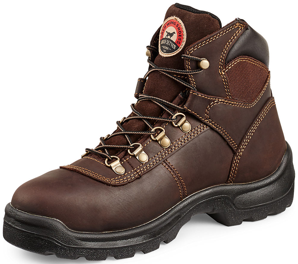 Red Wing Irish Setter Brown Ely Hiker Work Boots - Steel ...