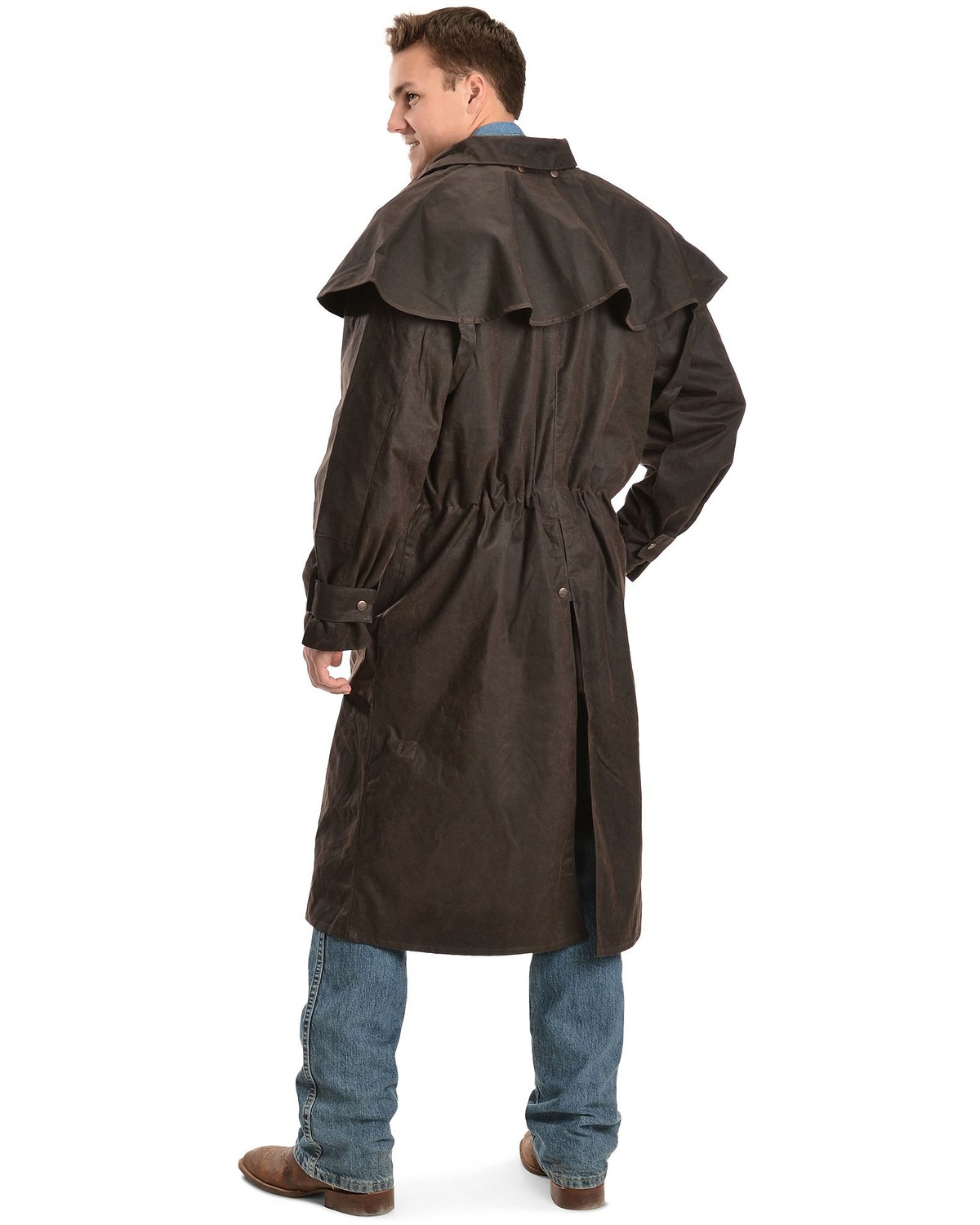 Oilskin Trench Coat Tradingbasis