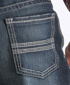 Cinch Men's Indigo Grant Mid-Rise Relaxed Fit Jeans - Boot Cut ...