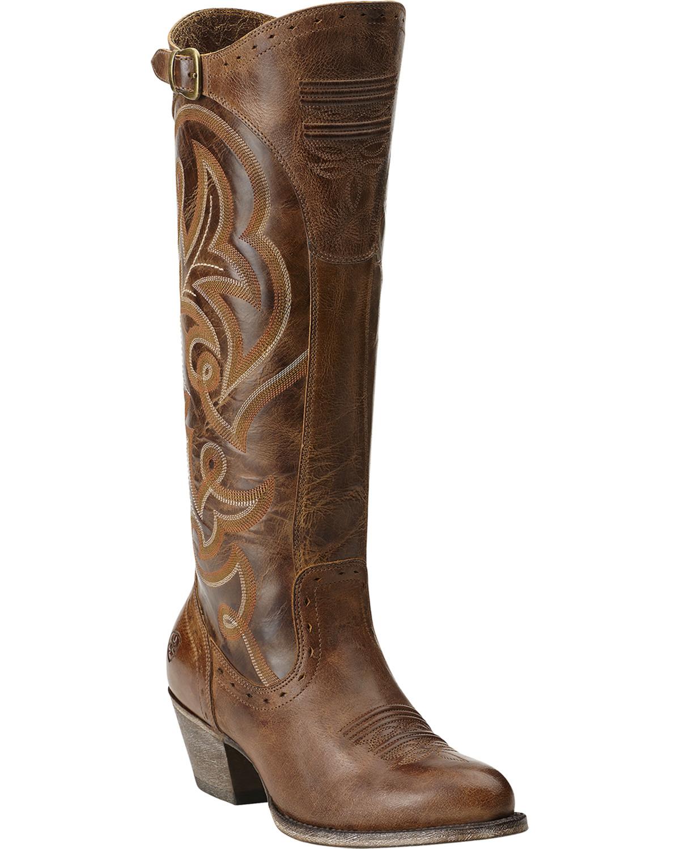 Ariat Wanderlust Tall Cowgirl Riding Boots - Medium Toe | Sheplers