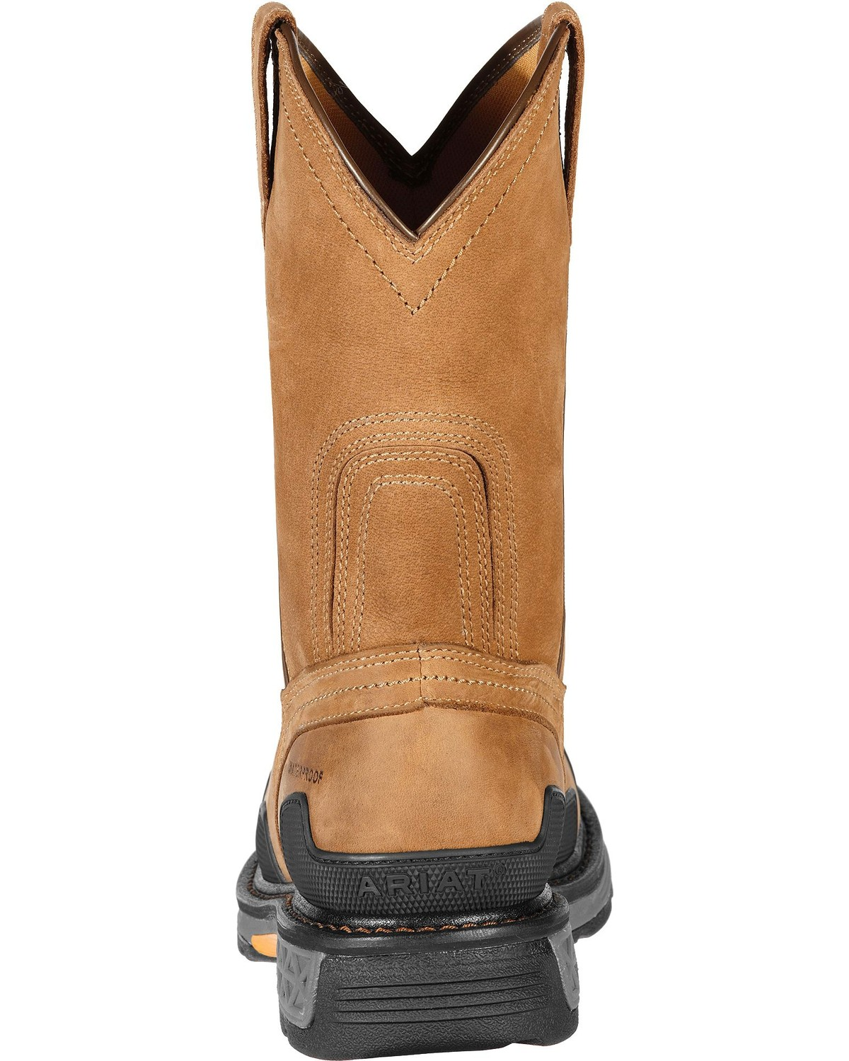 Ariat Overdrive Waterproof Pull-On Work Boots - Composite Toe ...