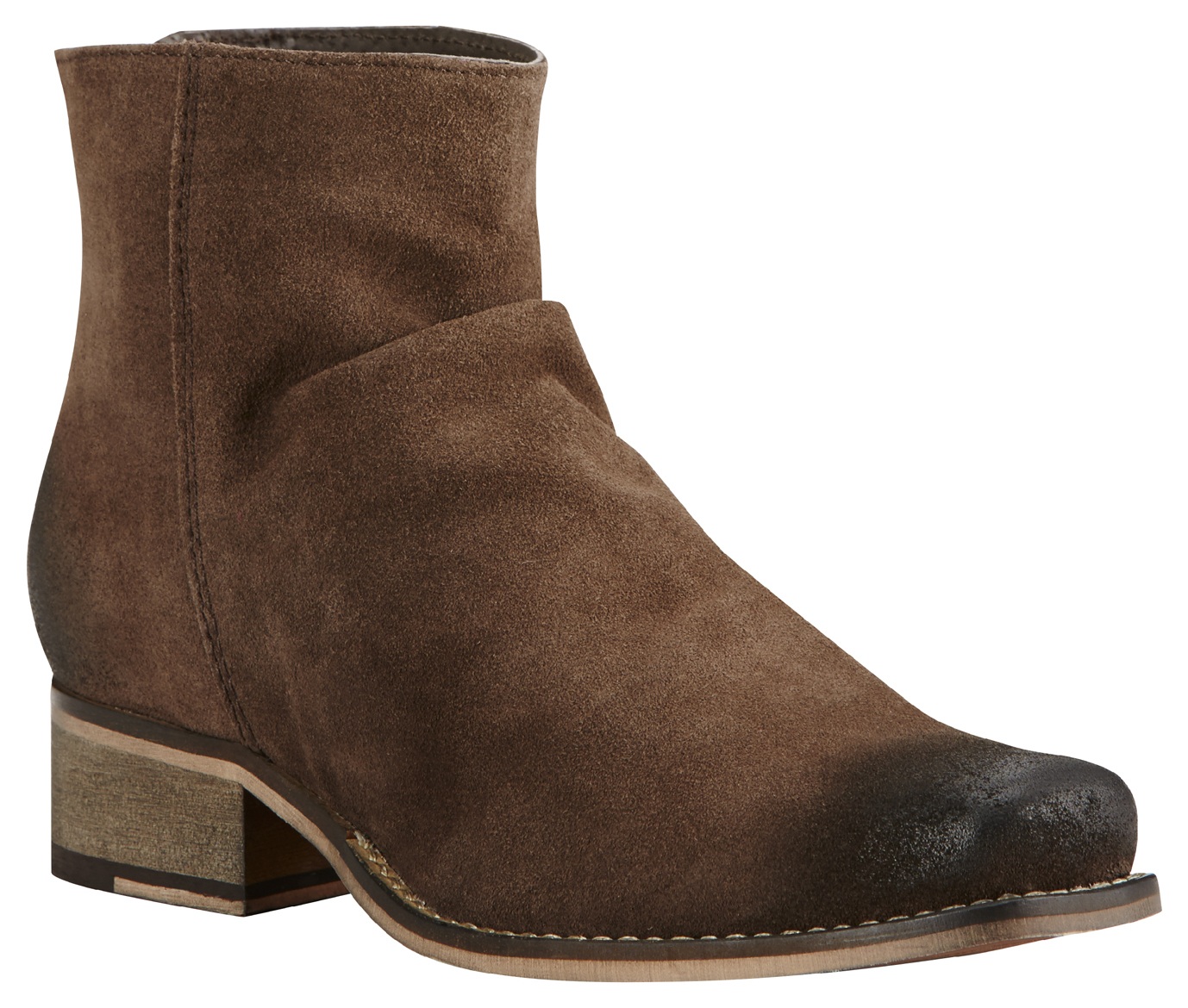 Ariat Women's Brown Unbridled Sloan Suede Boots - Square Toe ...