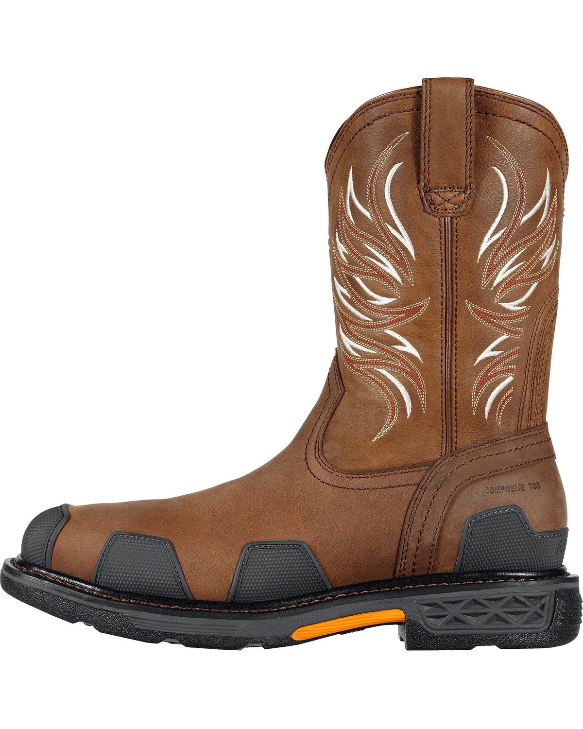 Ariat Overdrive Pull-On Work Boots - Composition Toe | Sheplers