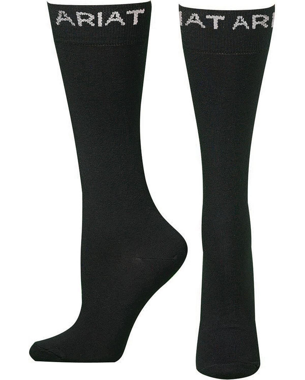 3pk wolverine leather work gloves extra large - Ariat Mens Thin Black Boot Socks Black Hi Res