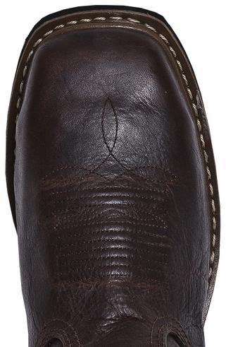 John Deere Men's Leather Western Work Boots - Steel Toe | Sheplers
