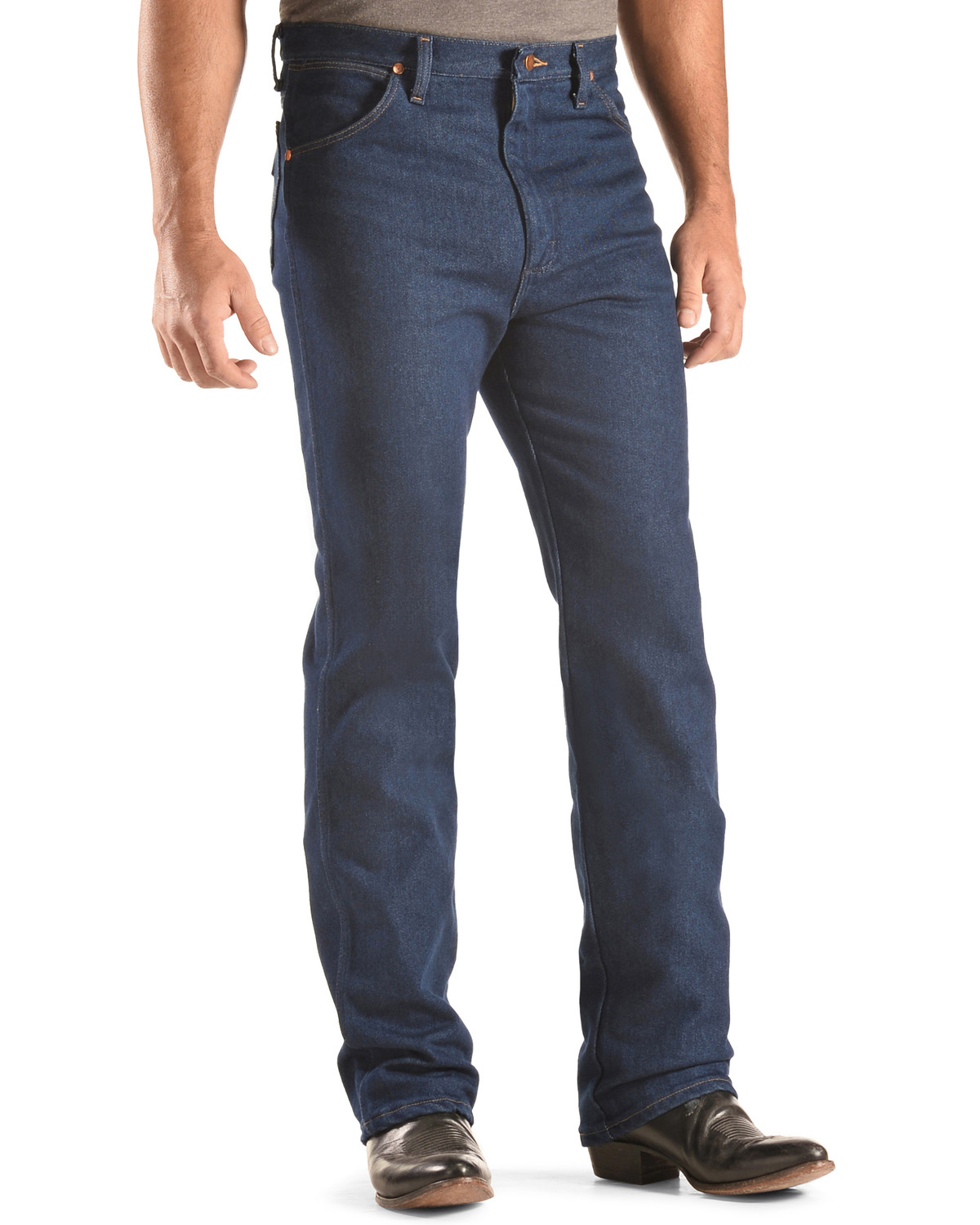 More Details Burberry Faded Slim-Fit Stretch Jeans, Dark Indigo, Size Details Whiskered and faded jeans in stretch denim by Burberry. Five-pocket style; leather logo patch on back. Adjustable tabs for room-to-grow fit. Slim fit through straight legs. Rolled cuffs reveal check trim.