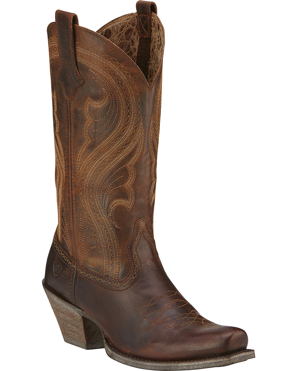 Ariat Lively Cowgirl Boots Square Toe Sheplers