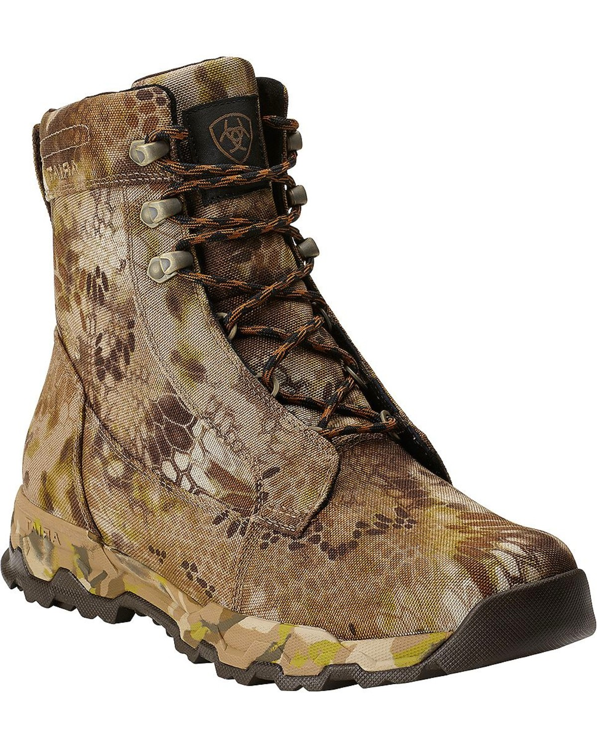 "Ariat FPS Kryptek Waterproof & Insulated 7"" Lace-Up Hunting Boots ..."