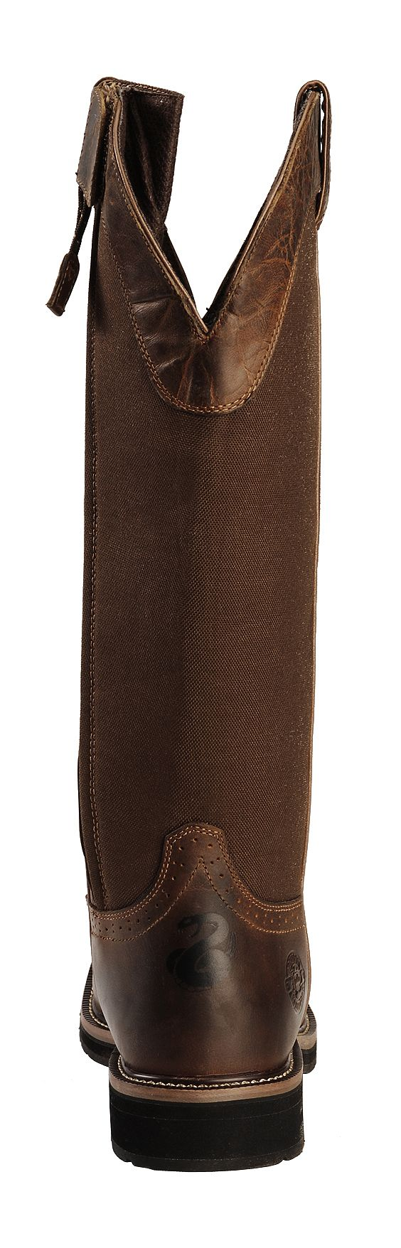 Justin Men S 17 Quot Fielder Brown Snake Proof Boots Soft
