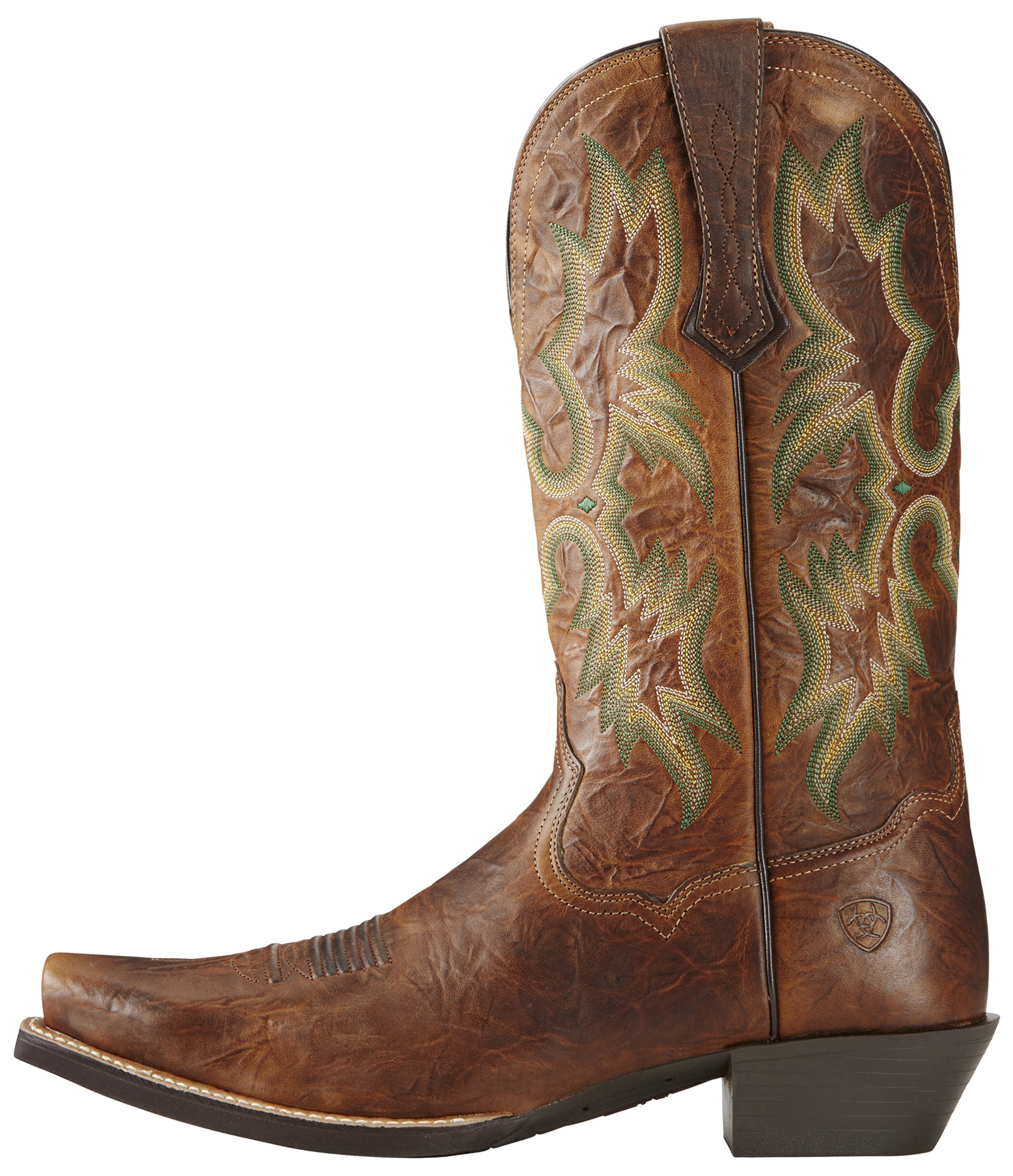 Ariat Men's Brown Dress Tombstone Boots - Snip Toe | Sheplers