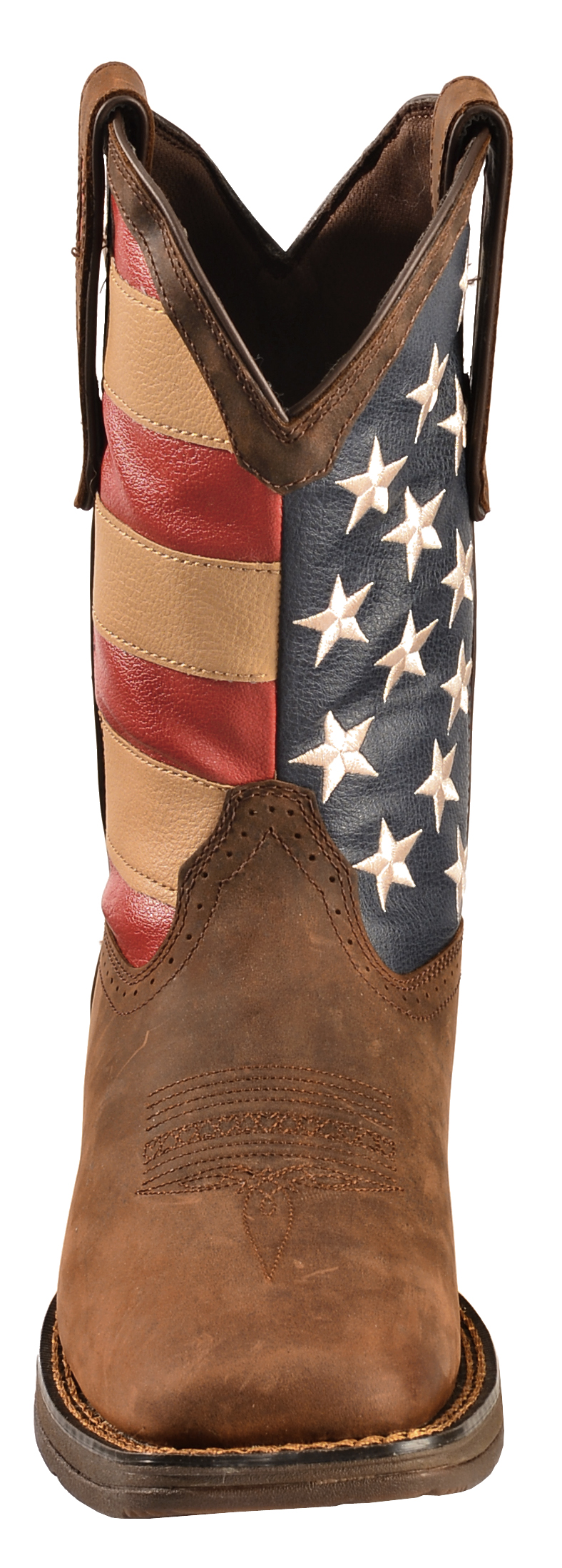 Durango Rebel Men S American Flag Cowboy Boots Square