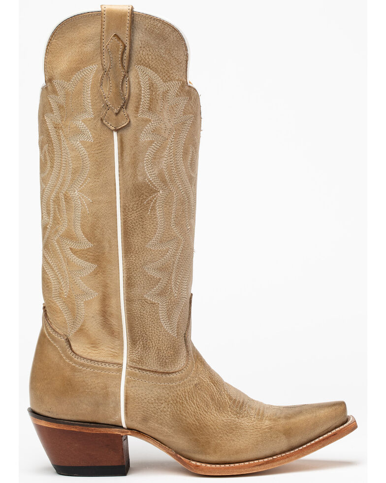 Idyllwind Women's Britches Western Boots - Snip Toe, Cream, hi-res