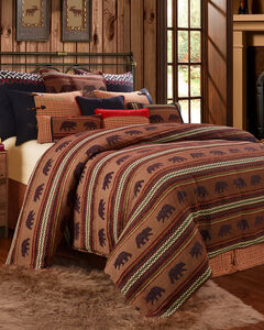 HiEnd Accents Bayfield Bear Full Duvet, Multi, hi-res