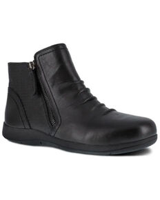 Rockport Women's Daisey Work Boots - Alloy Toe, Black, hi-res
