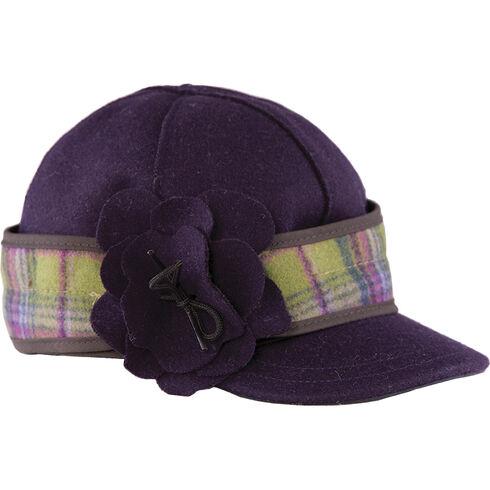 Stormy Kromer Women's Petal Pusher Cap, Purple, hi-res