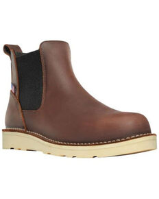 Dan Post Men's Bull Run Chelsea Boots - Soft toe, Brown, hi-res