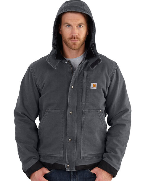 Carhartt Men's Full Swing Caldwell Jacket - Big & Tall, Shadow Black, hi-res