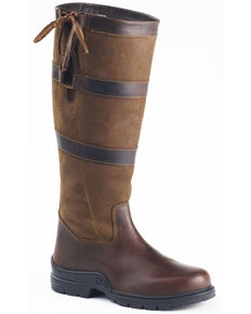 Ovation Women's Rhona Country Boots, Brown, hi-res