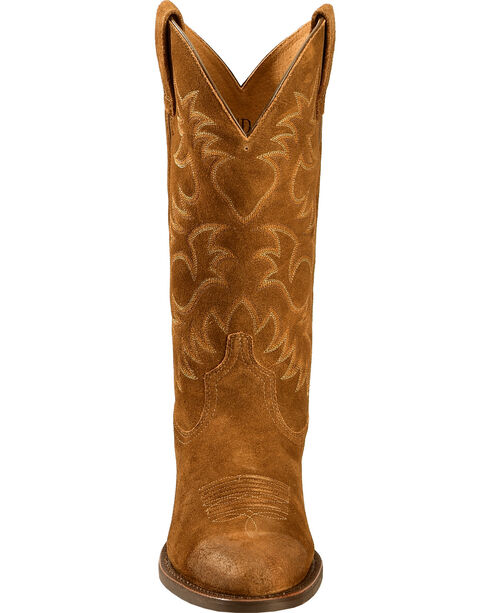 Ariat Heritage Western Cowboy Boots - Medium Toe , Antique Chocolate, hi-res