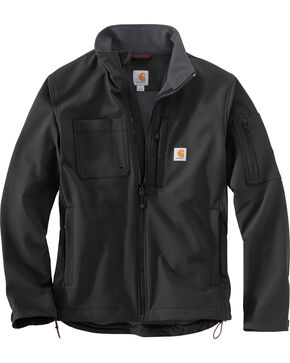 Carhartt Men's Roughcut Jacket - Big & Tall, Black, hi-res