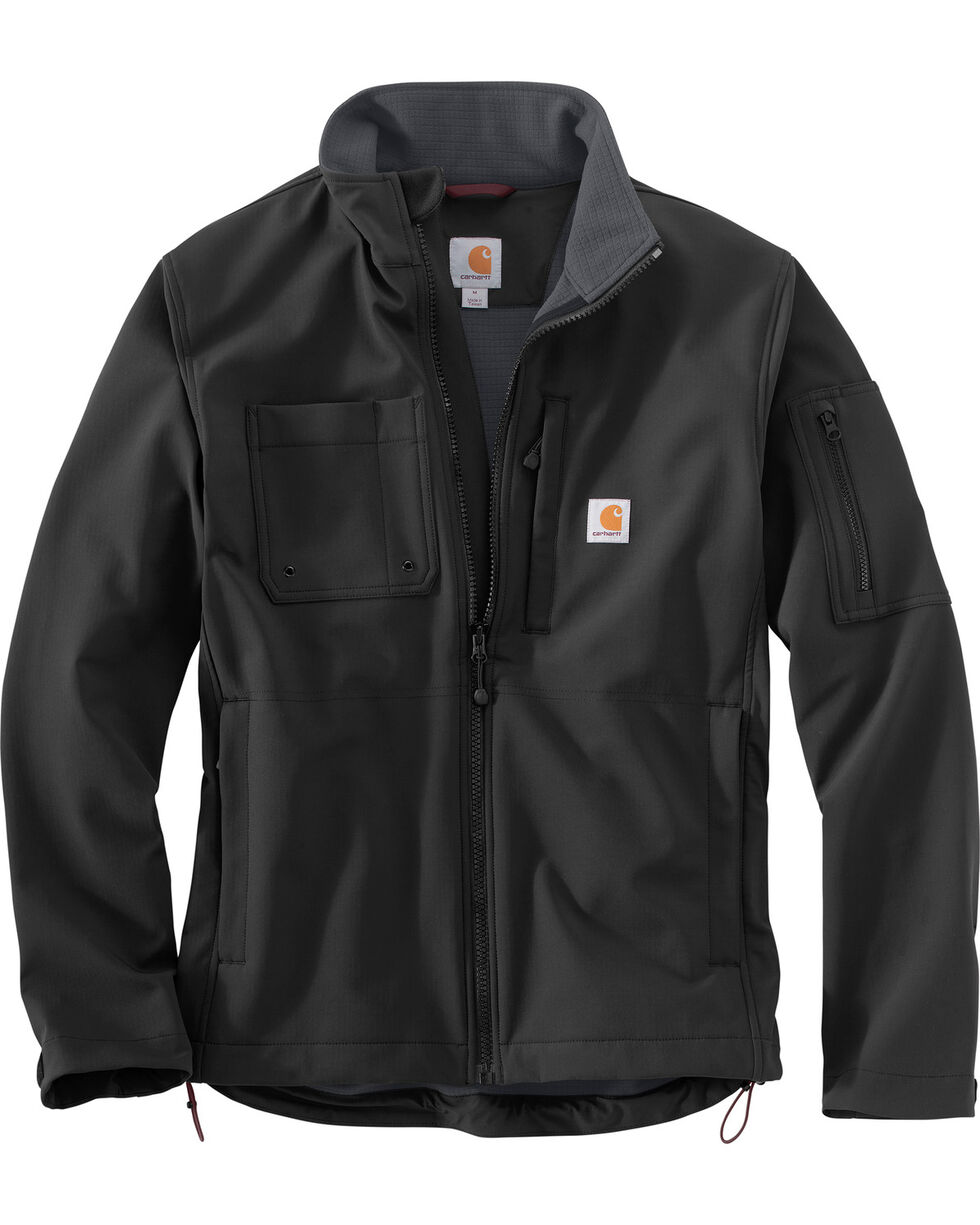 Carhartt Men's Roughcut Jacket - Big & Tall, Black, hi-res