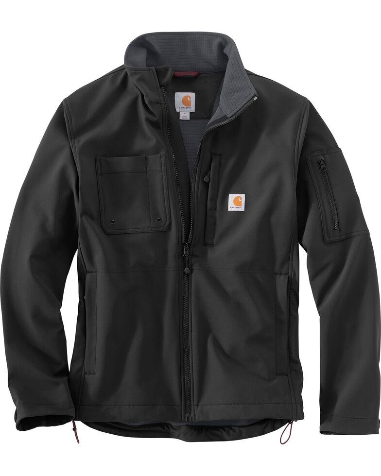 Carhartt Men's Roughcut Work Jacket - Big & Tall, Black, hi-res