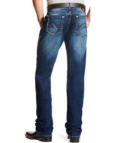Ariat Men's M2 Cole Dark Wash Jeans - Boot Cut , Indigo, hi-res