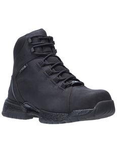 Wolverine Men's Black I-90 Rush Work Boots - Composite Toe, Black, hi-res