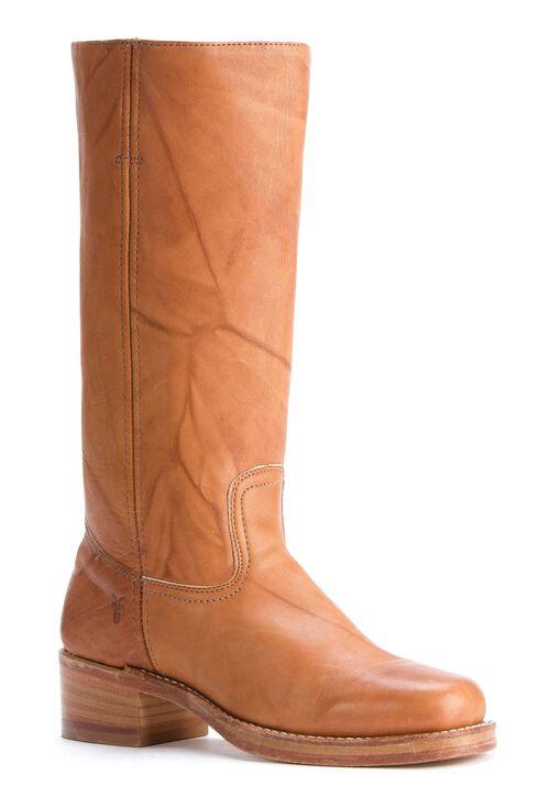 Frye Men's Campus 14L Boots - Square Toe, Saddle Tan, hi-res