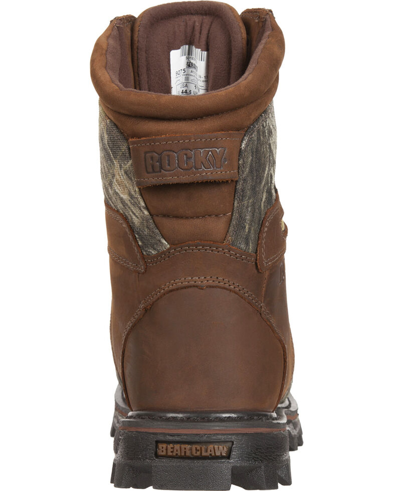Rocky Men's BearClaw 3d Gore-Tex Waterproof Insulated Hunting Boots, Mossy Oak, hi-res