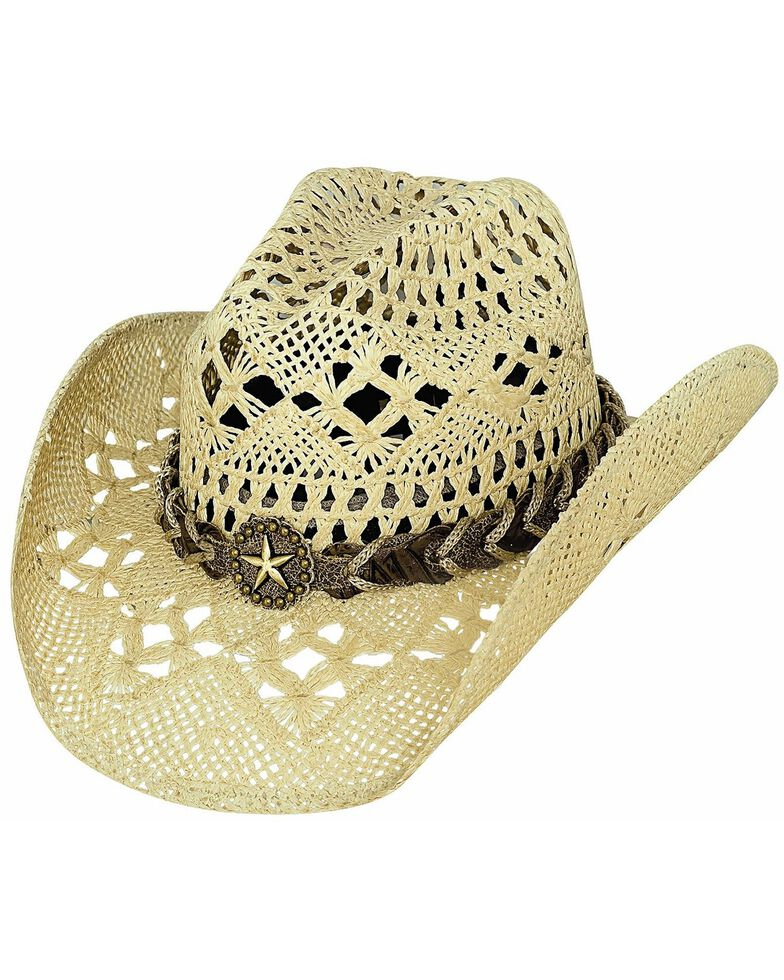 Bullhide Naughty Girl Straw Cowgirl Hat, , hi-res