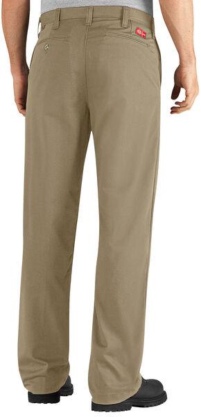 Dickies Flame Resistant Twill Pants - Tall, Khaki, hi-res