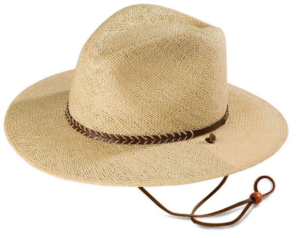 Stetson Lakeland UV Protection Straw Hat, Natural, hi-res