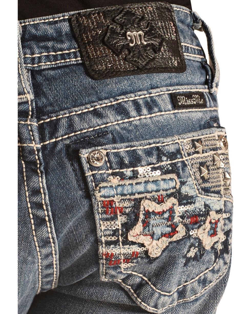 Miss Me Girls' American Retro Skinny Jeans, Denim, hi-res