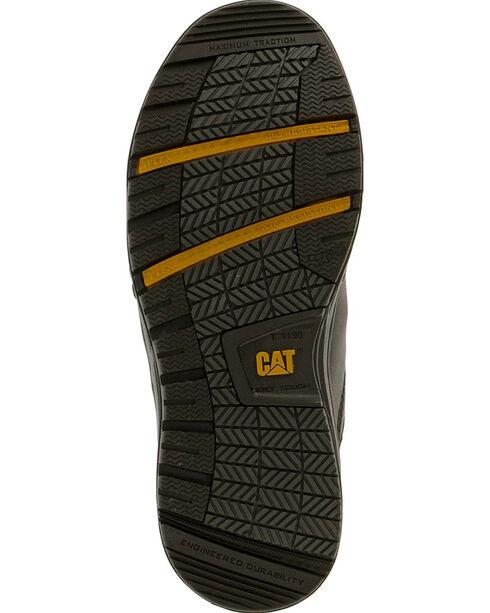 Caterpillar Women's Concave Work Shoes - Steel Toe , Black, hi-res