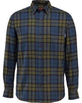 Wolverine Men's Hammond Long Sleeve Flannel Shirt , Black, hi-res