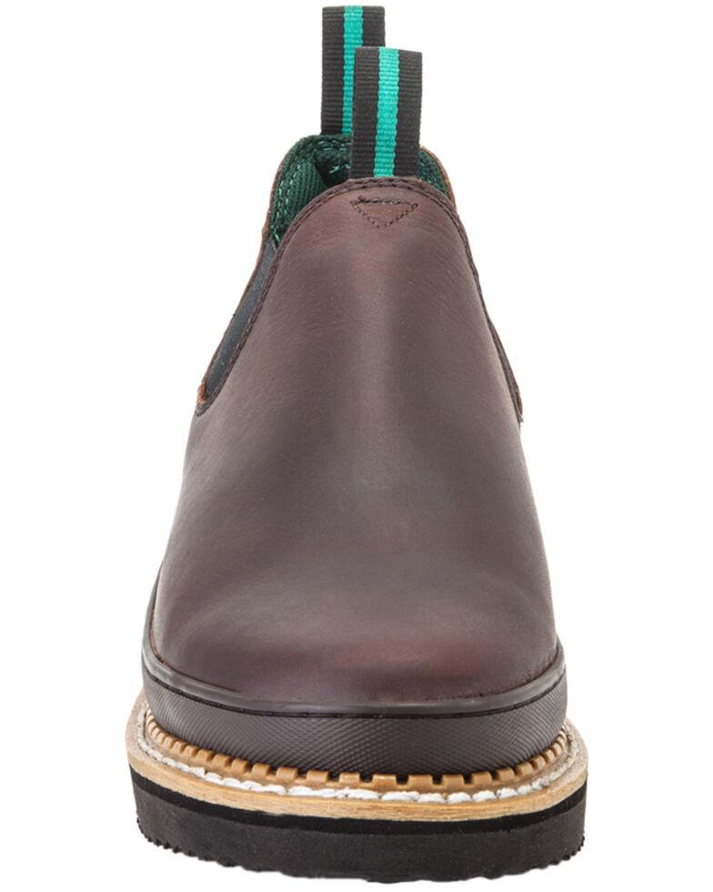 Georgia Men's Giant Romeo Work Shoe, Brown, hi-res
