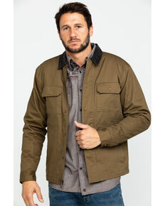 Cody James Men's Saddler Ranch Slub Canvas Jacket - Tall , Lt Brown, hi-res