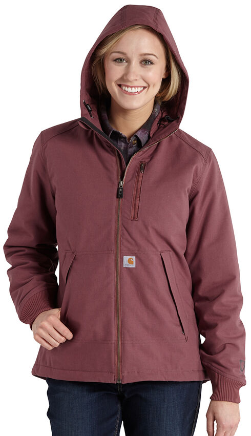 Carhartt Quick Duck Jefferson Jacket, Ginger, hi-res