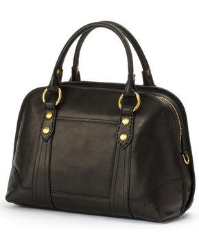 Frye Women's Melissa Domed Leather Satchel , Black, hi-res