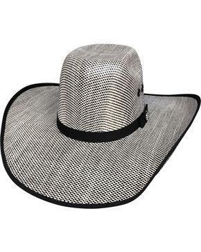 Bullhide Men's Shades of Black 50X Straw Cowboy Hat, Black, hi-res
